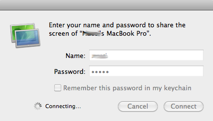 the Mac Net Auth Agent Login Dialogue Window