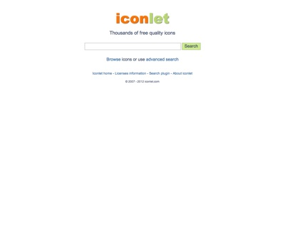 iconlet Free Icon Search Engine