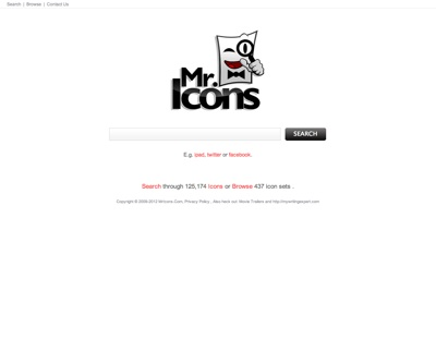 MrIcons Icon Search Engine