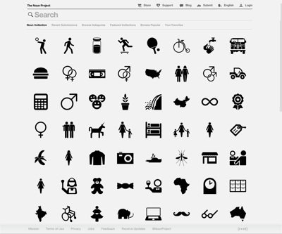 The Noun Project Free Icon and Licensed Icon Repository